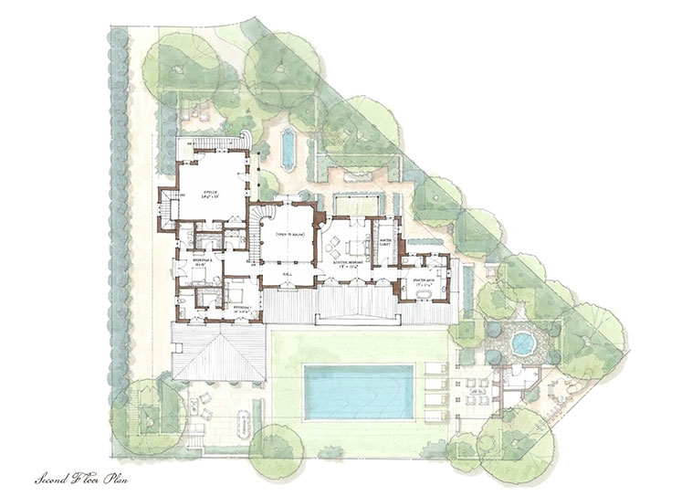Desert Retreat House Plan House Design Plans