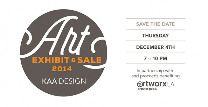 save the date 2014 kaa art exhibit sale news evens architects