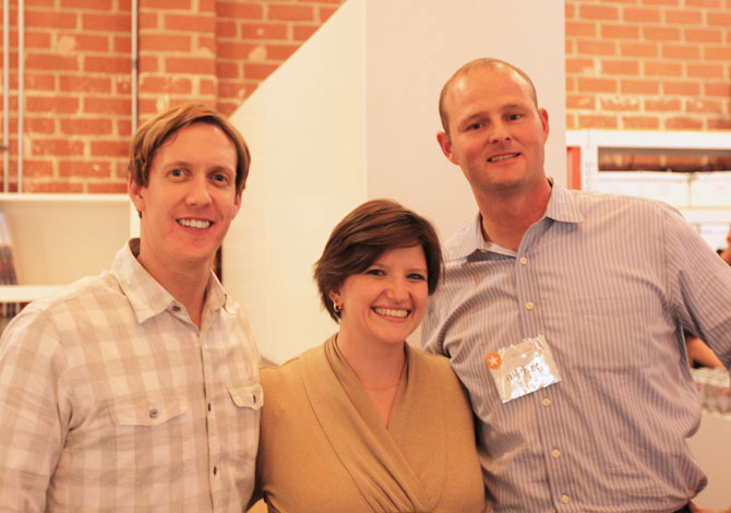 KAA Staff Members (left to right) Brad, Sara, and Michael
